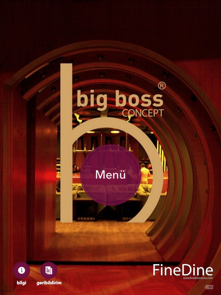 Big Boss Concept Istanbul, offers FineDine Restaurant Menus to their special guests.