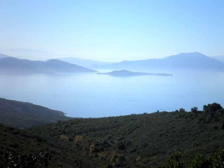 top of my world! Argalasti, pelion, greece