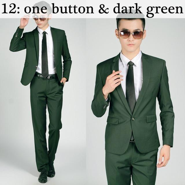 (Jacket+Pant+Tie) New Arrival Men Suit Sets Slim Fit Tuxedo Formal Dress Suits Wedding Fashion