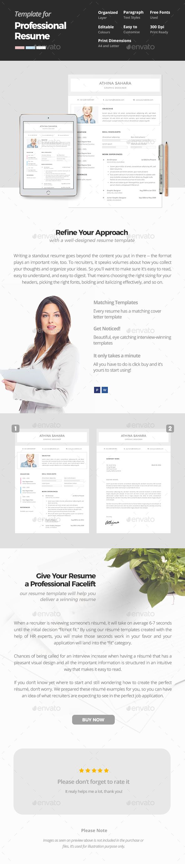clean and professional resume template proffesional resume templates