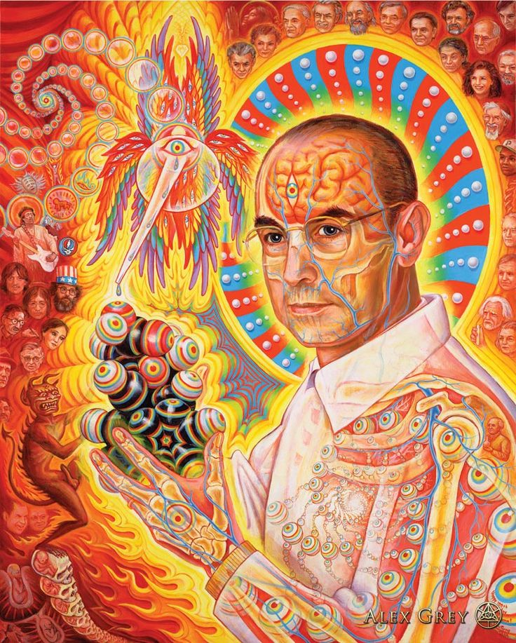 Alex Grey Psychedelic Painting Art Gallery Albert Hoffman LSD Psychedelic Spirit Paintings, Alex Grey Art Gallery