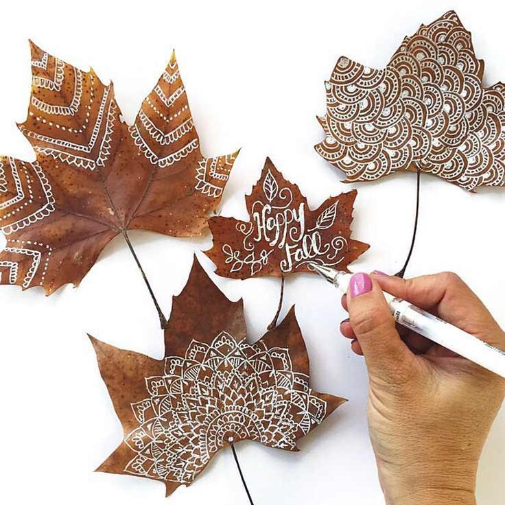 Gorgeous Leaf Craft Ideas You Must Try!