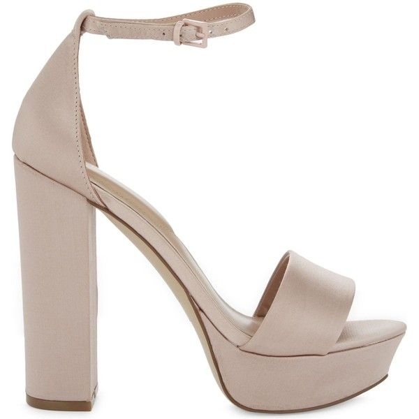 ALDO Nesida block heels (435 ARS) ❤ liked on Polyvore featuring shoes, pumps, aldo, leather high heel pumps, high heel pumps, block high heel shoes and block heel pumps