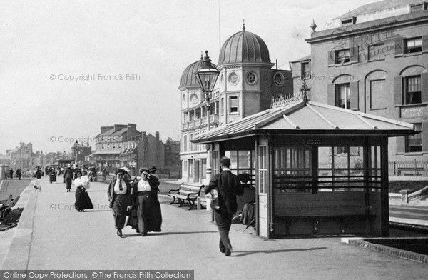 Bognor Regis, A Shelter 1911, from Francis Frith
