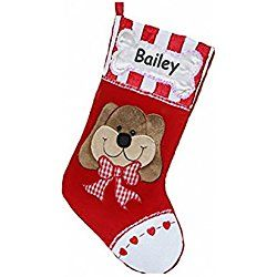Personalized My Favorite Dog Christmas Stocking (CUSTOM)