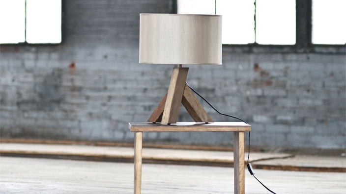 plank lamp: Beach House, Table Lamps, Tripod Lamps, Interiors Design, Future House, Dreams House, Planks Lamps, Tables Lamps, Planks Tables
