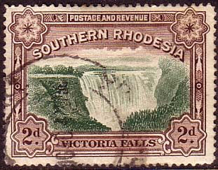 Southern Rhodesia 1935 Victoria Falls Fine Used SG 35a Scott 37 Other African and British Commonwealth Stamps HERE!