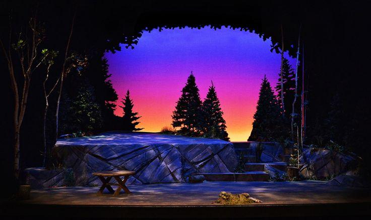 Henry & Alice: Into the Wild. The Sudbury Theatre Center. Scenic design by Scott Penner.