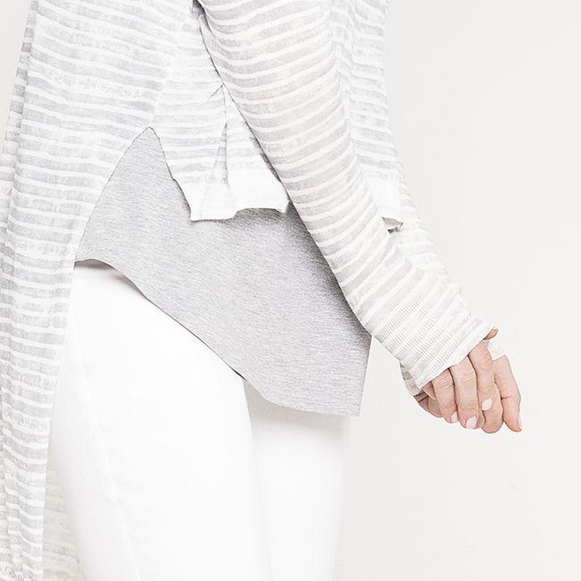 The Isla Knit | high + low | #nikelandsole #designedinmelbourne #knitwear #stripes