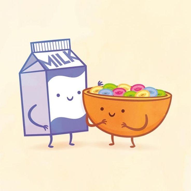 Смешные рисунки для срисовки еда и напитки