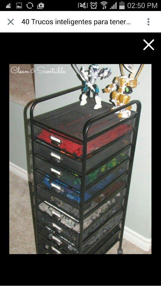 Organizador legos