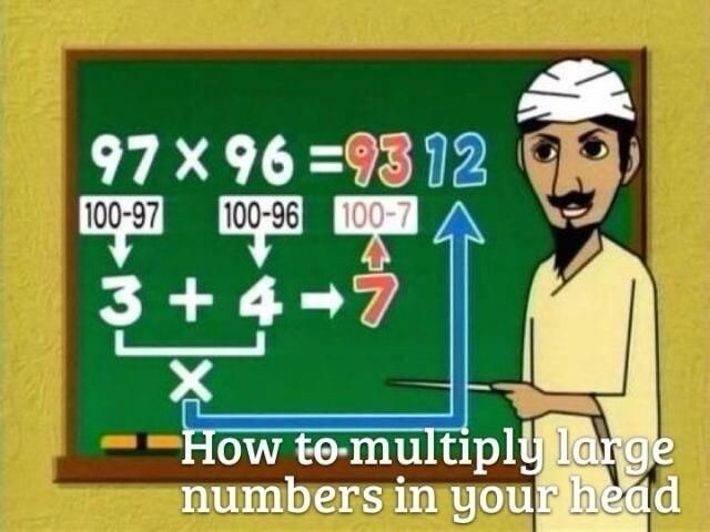 Loved seeing the formula again. Had forgotten this from my educational math class  in College.