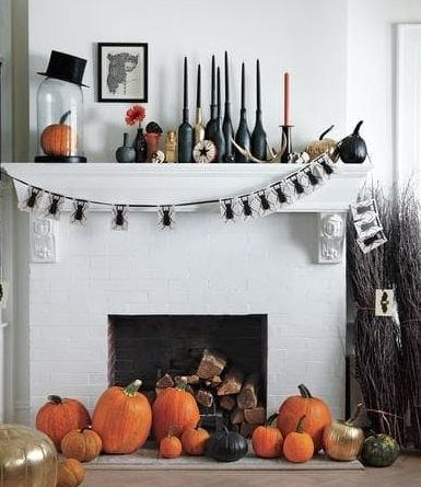 elegant ways to decorate your home for halloween - Pretty Halloween Decorations