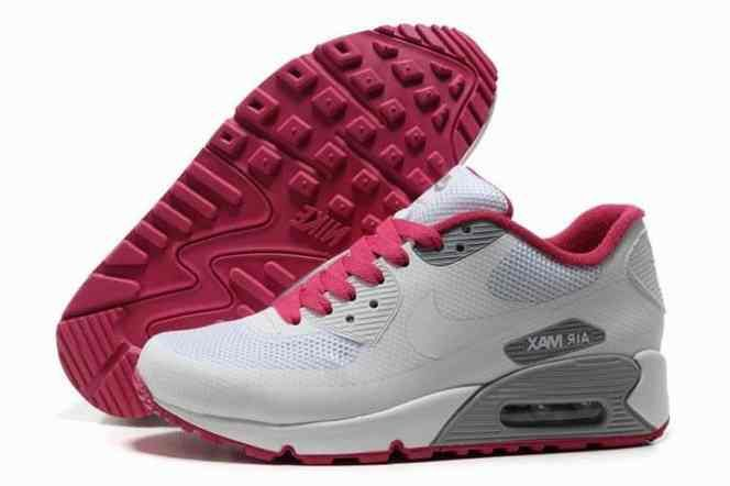 2015 Cheap Air Max 90 Hyperfuse Prm Womens Shoes For Sale White Grey Red…
