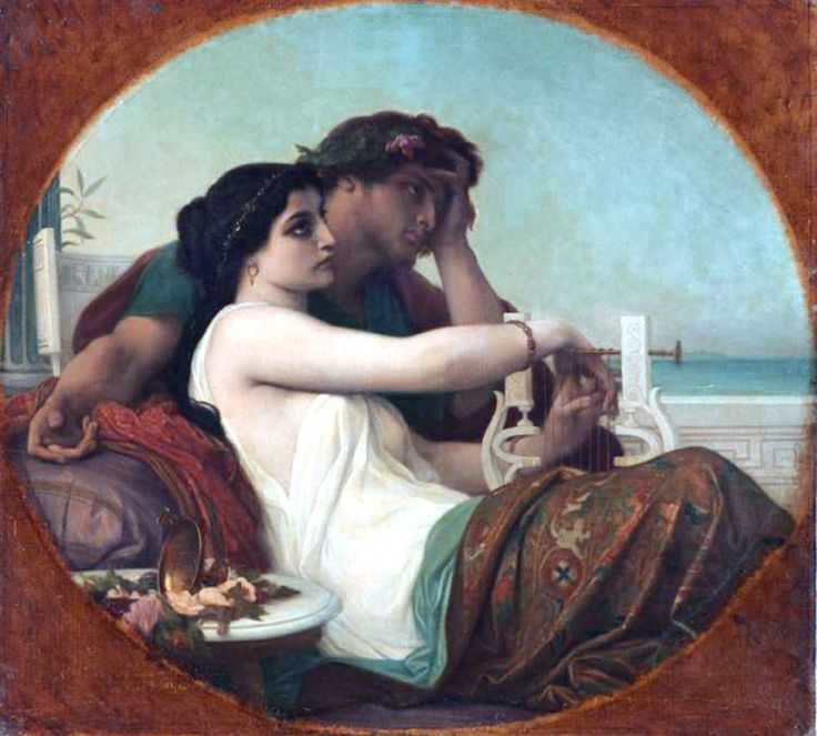 Alexandre  Cabanel / Algae and Boniface.
