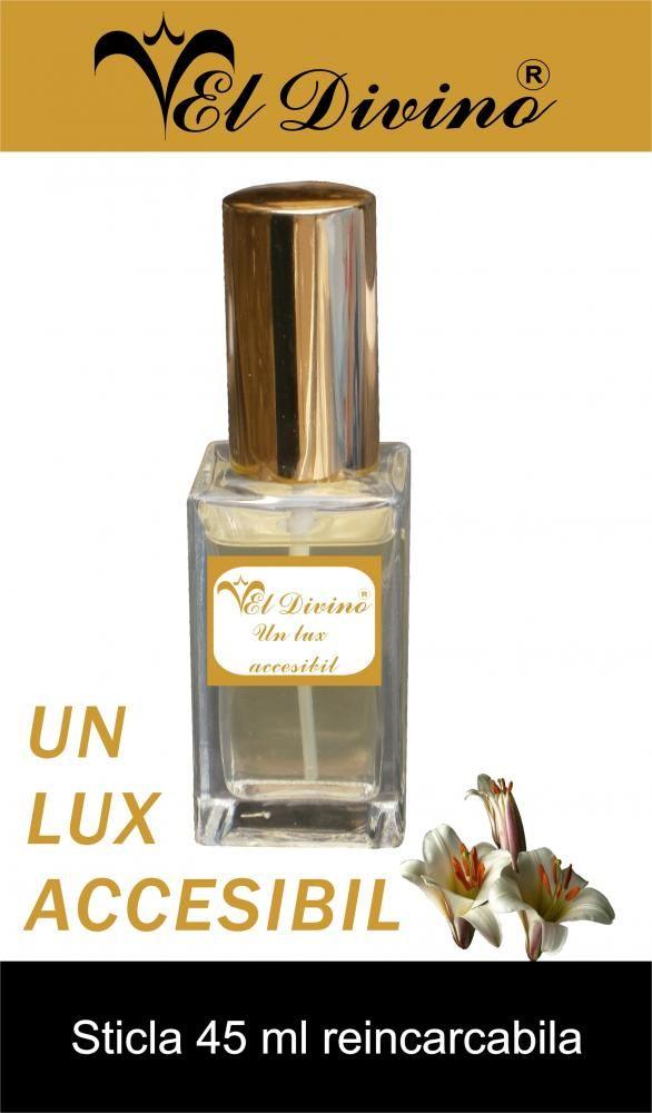 Bottles and Perfume testers. Sticla de 45 ml Parfumuri si Cosmetice EL Divino Romania.