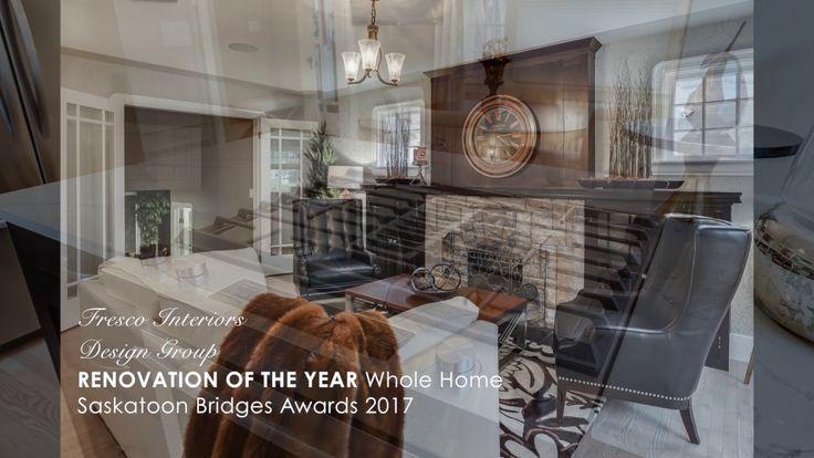 Renovation of the Year Award - Saskatoon Bridges Awards 2017 - Fresco In...