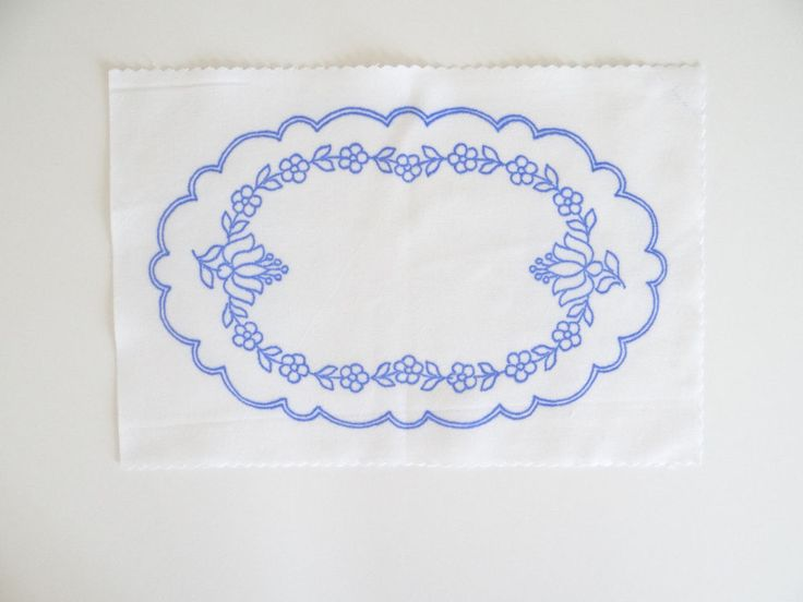 Kalocsa oval doily pattern print from Hungary New 10.5'' x 6.5 '' DIY u in Collectibles, Linens & Textiles (1930-Now), Lace, Crochet & Doilies   eBay
