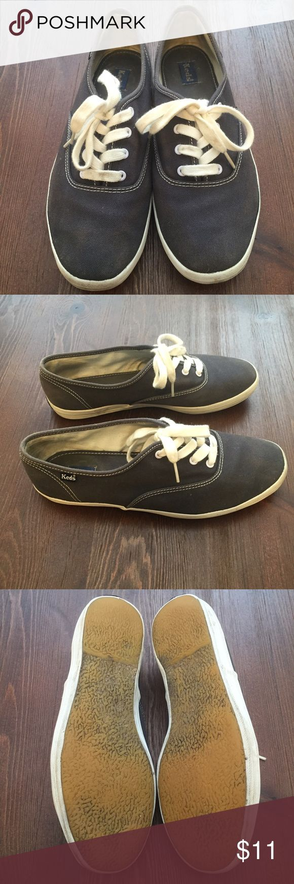 Used navy Keds sneakers Used navy Keds in size 7.5. No trades please but open to offers. More pics available upon request. Keds Shoes Sneakers
