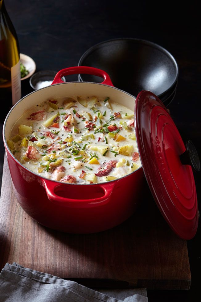 Lobster and Corn Chowder Recipe | Williams Sonoma Taste