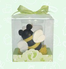 One Bee Baby Shower Votive Candle Party Favor Is 2 High And Packaged In A Pretty Clear Plastic Box With Ribbon Beautiful For All Your