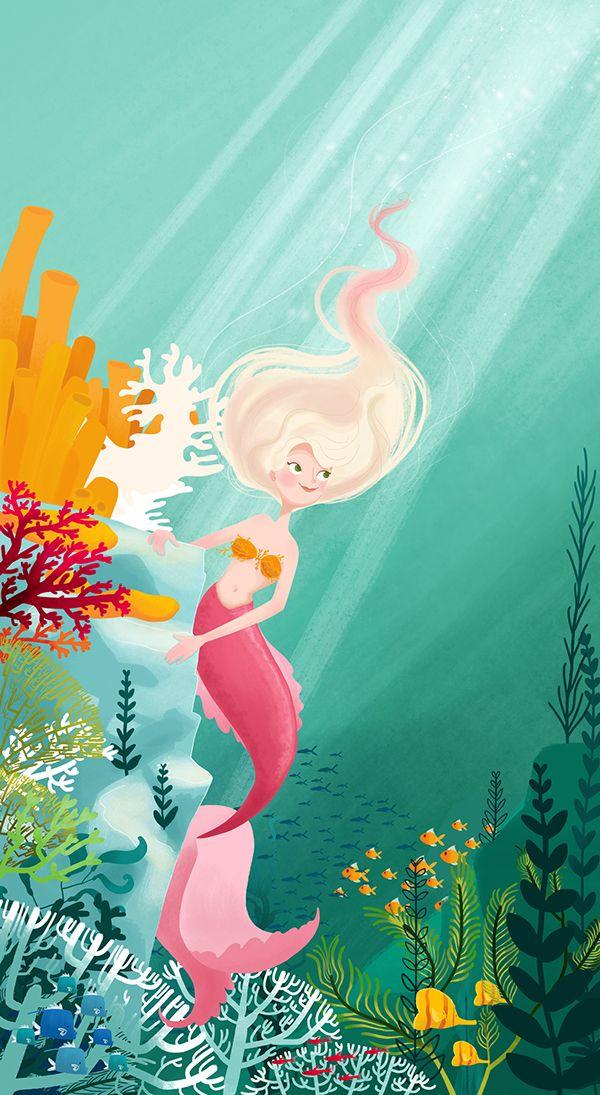 The Little Mermaid - Illustrated Fairytales on Behance