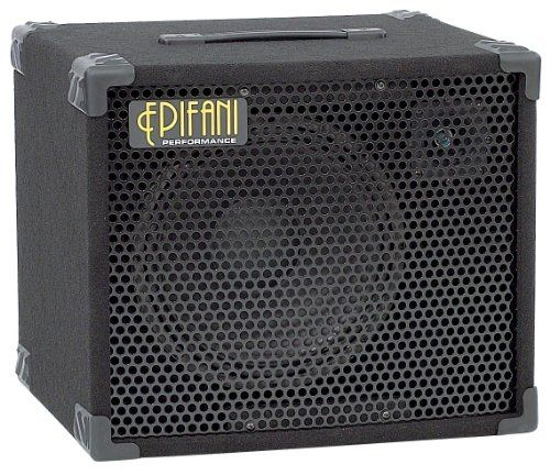 "Epifani PS112 Bass Cabinet, 8 Ohms. Tuned for a more ""classic"" tone than the UL Series, they deliver thick lows with a musically crisp edge. The PS112 has a thick low end capable of handling the B string, punchy mids and a nice glassy high end describe the response of the PS112. The PS Series cabinets were designed and built with the same commitment to sonic detail and quality construction as Epifani's award winning UL Series speakers. Only the best conventional materials were used..."