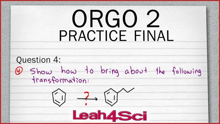 organic chemistry retrosynthesis practice