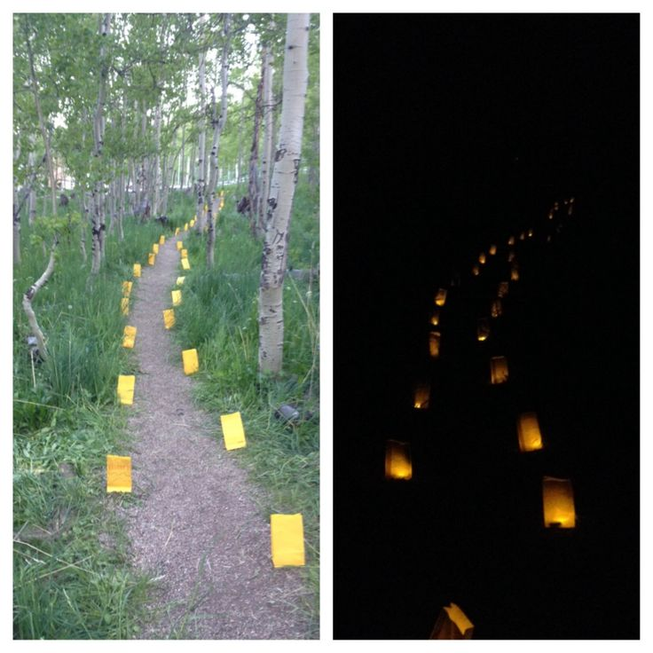 Wizard of Oz Girls' Camp Ideas. This is an easy way to create a yellow brick road in the wilderness! :)