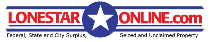 Texas ATM online auction LonestarOnline.com - Federal, State and City Surplus. Seized and Unclaimed Property Auctions