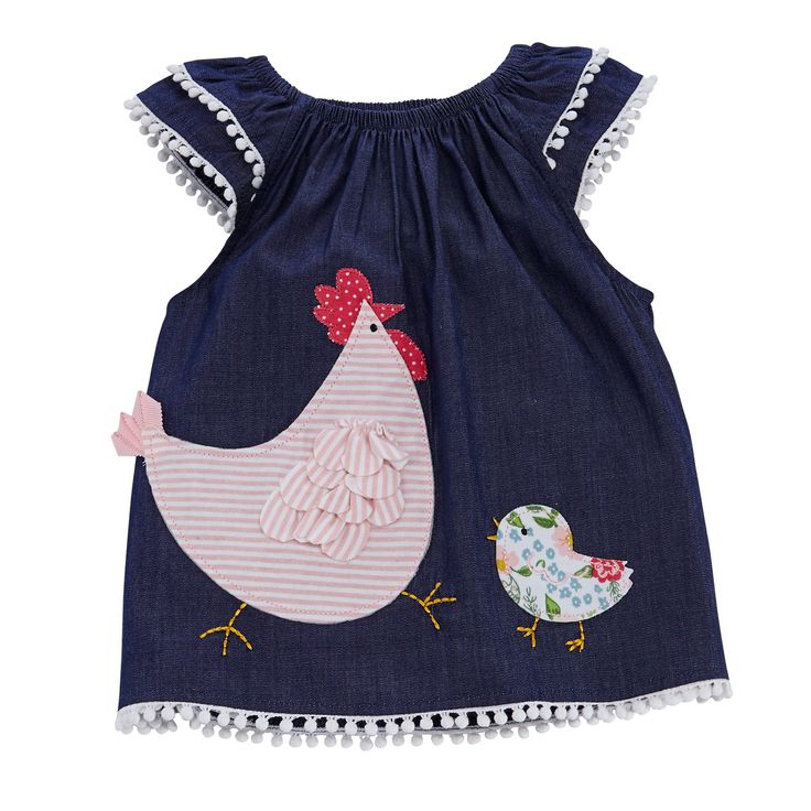 Hen and Chick Tunic and Leggings Set by Mud Pie
