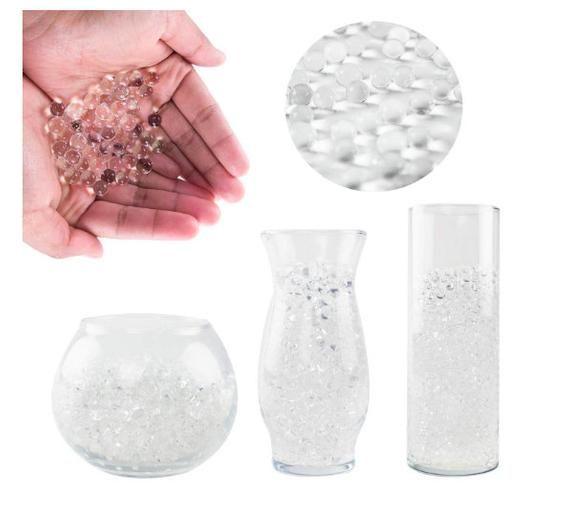 Clear Water Beads Floral Water Beads Floral Water Pearls Vases Water Beads Wedding Centerpiece Beads Water Beads Gel Beads A Gel Beads Water Beads Vase Fillers