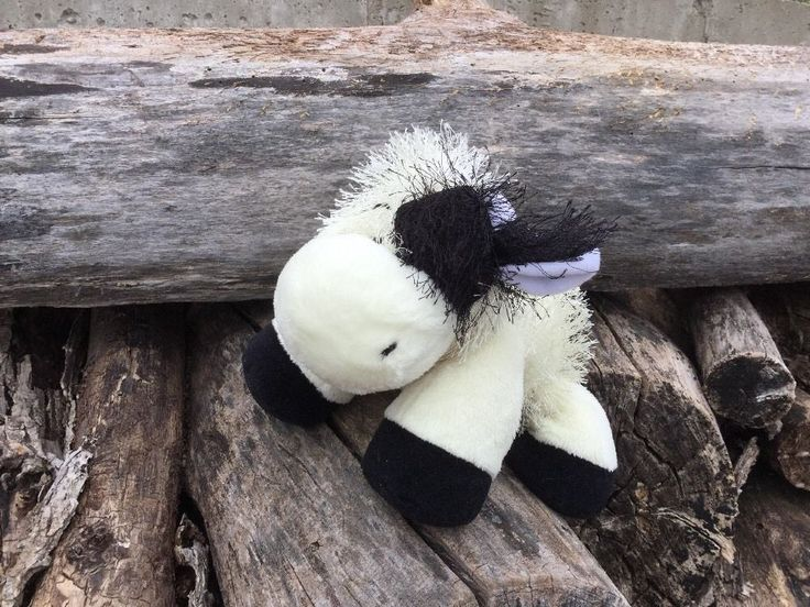 Ganz Webkinz HM003 Black & White Cow Plush Stuffed Animal - No Codes  661371324524 | eBay