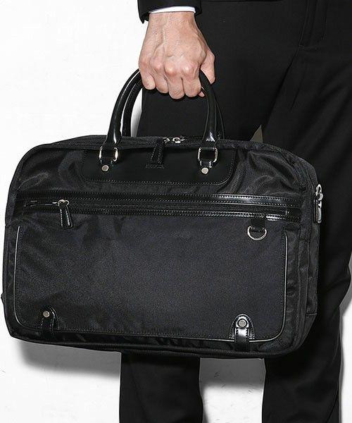 SEEKER(シーカー)の「SEEKER/3way Brief Bag(ビジネスバッグ)」 - WEAR