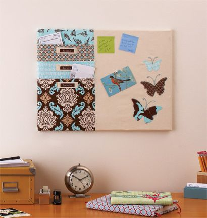 love this board ... perfect for organizing photos and letters