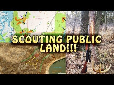 Learn How To Scout Whitetail Deer On Public Hunting Land [VIDEO]