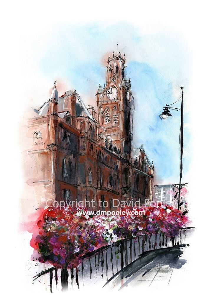 Barrow Town Hall by David Pooley
