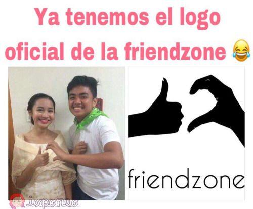#EnTwitterYoEncontre El logotipo oficial de la #friendzone !!