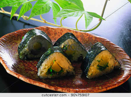 Asian gourmets stock photo