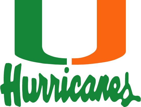 miami canes football stencil free - Google Search