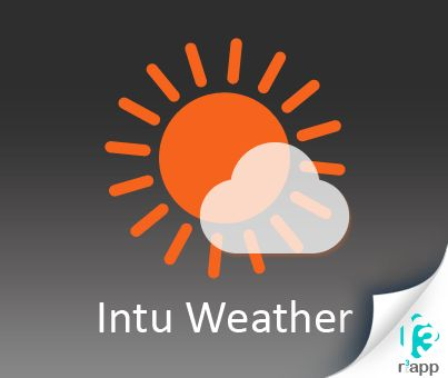 #Download Intu #weather app at http://www.r3app.com/intuweather