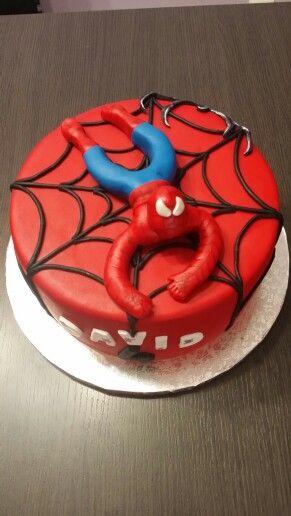 Tarta Spiderman cake