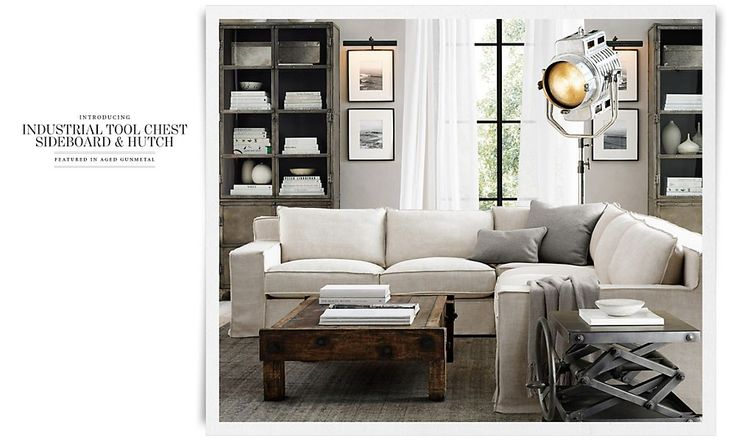 Rooms restoration hardware grown up furniture for Living room 4 pics 1 word