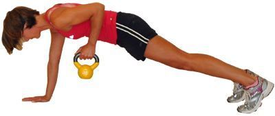 16 Great Mid-Back Exercises - Work Your Lats with These Creative Exercises: Power Plank with Rows