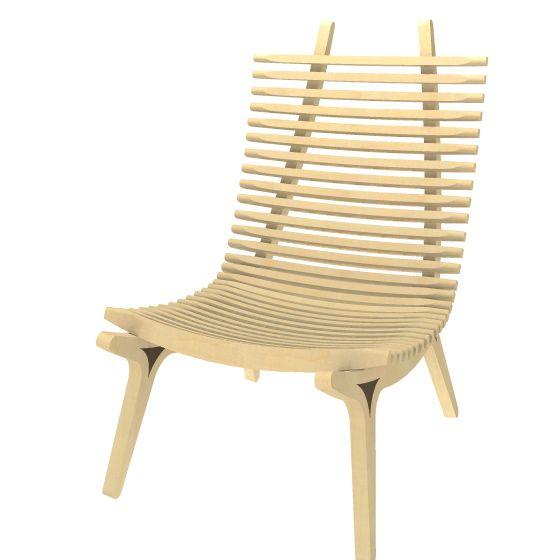 IBBI-Ibbi är en loungestol med mycket karaktär och ett vackert exempel på vilka möjligheter träet medger. Stolen tillverkas i björk och är i princip uppbyggd av två delar, gavel och ribba. Gaveln är två spegelvända kopior av sig själv och ribborna skapar sits och rygg. För att stolen skall kännas omslutande, trygg och inbjudande har den en mjuk form som omsluter kroppen. Nackkudde/svankstöd och sittdyna finns som tillval.