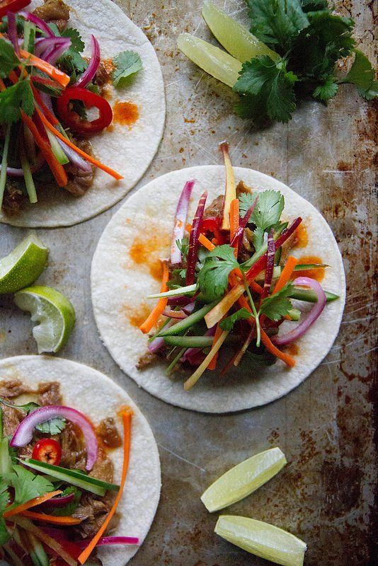 Pin for Later: Banh Mi Tacos: Combine 2 Cuisines Into 1 Delightful Dish