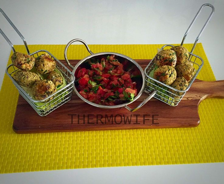 Recipe BAKED FALAFEL by Thermowife - Recipe of category Main dishes - vegetarian