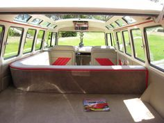vw bus interior - Google-haku