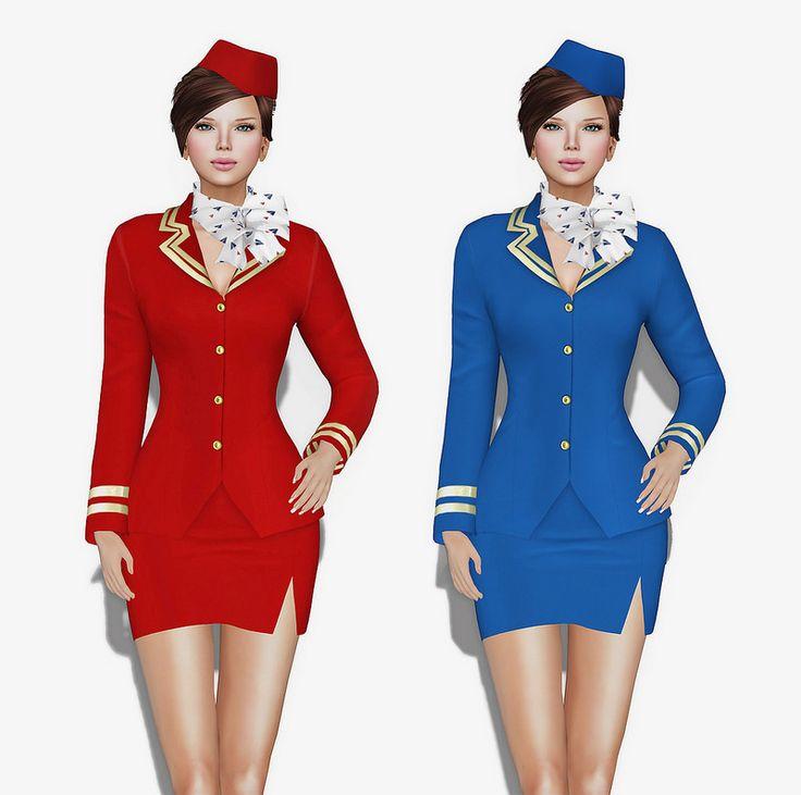 MI Female Hostess Outfit