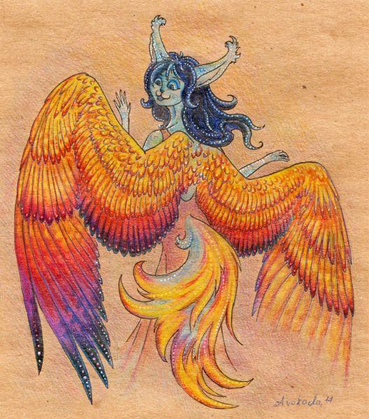 """""""Исса зажгла свет, подошла к зеркалу и... увидела за спиной прекрасные крылья! Чудо, в которое она не верила, и которое ей не раз снилось."""" Название сказки - """"Новогоднее чудо"""", последняя часть"""